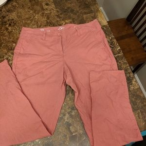 Loft linen pants, harem-type style size 8